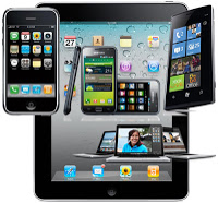 Image of various portable devices.